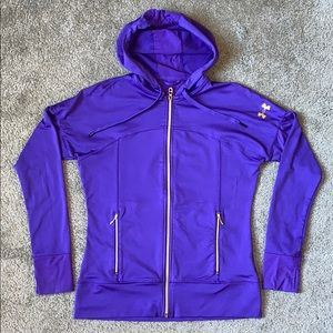 Under Armour Full-Zip Semi-Fitted Running Top